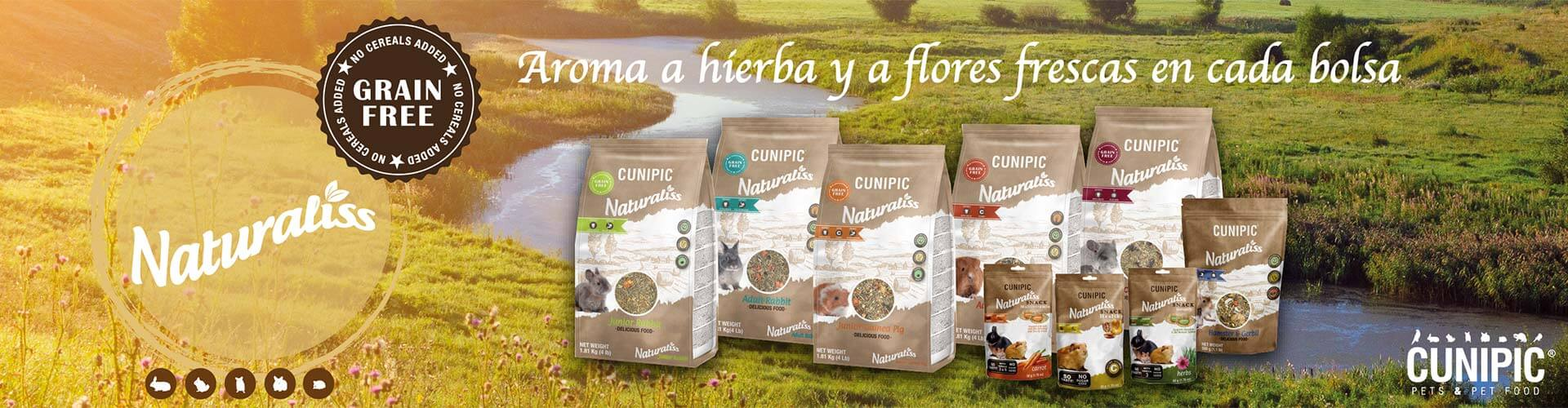 Naturaliss: alimentación natural para pequeños mamíferos 1